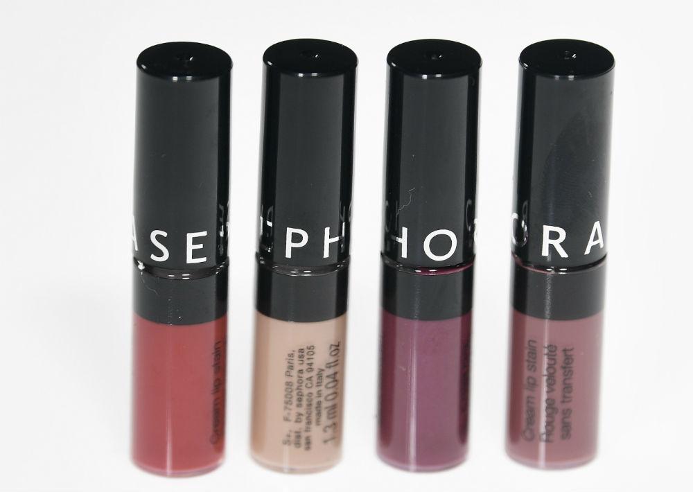 Cream Lip Stain Set, $12, de Sephora. (Foto: Gerald López-Cepero)