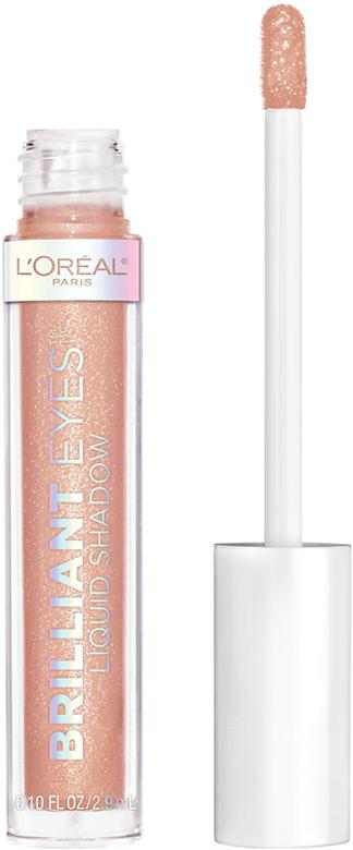 """Las sombras Brilliant Eyes de L'Oréal Paris están disponibles es 12 tonos brillosos, son líquidas, de alta pigmentación y duración para un """"look"""" único sin mucho esfuerzo. (Suministrada)"""