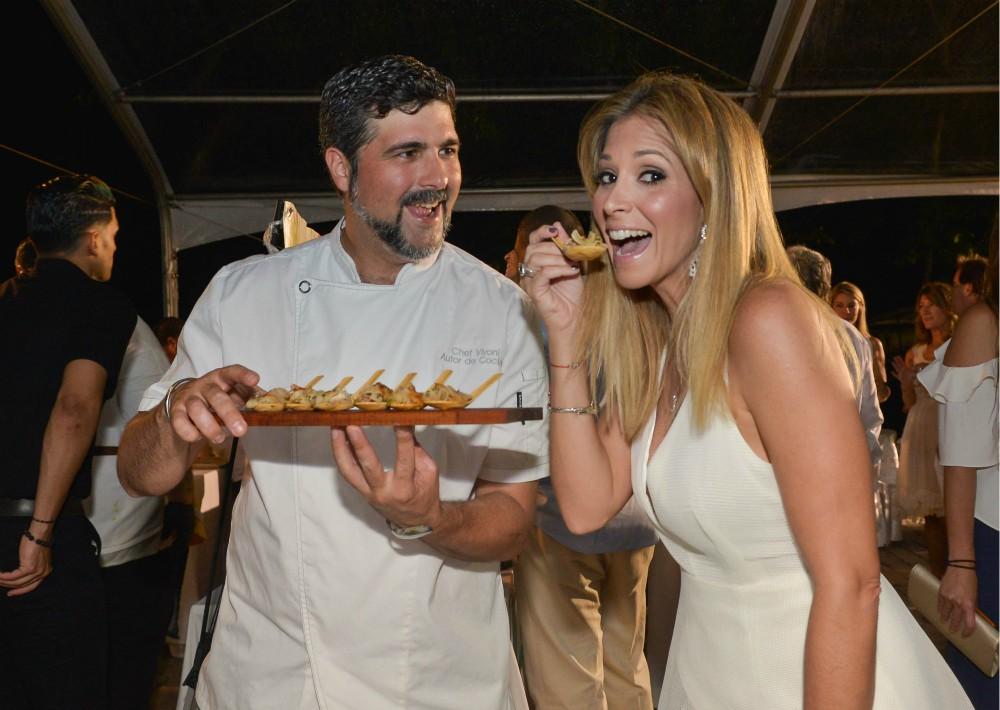 Chef Ventura Vivoni y Betty Martínez. (Foto Enid M. Salgado)