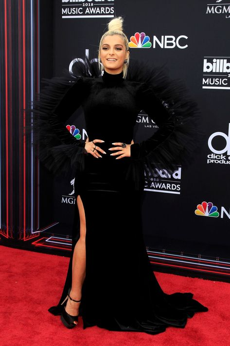 La cantante estadounidense de origen albanés Bebe Rexha. (EFE)