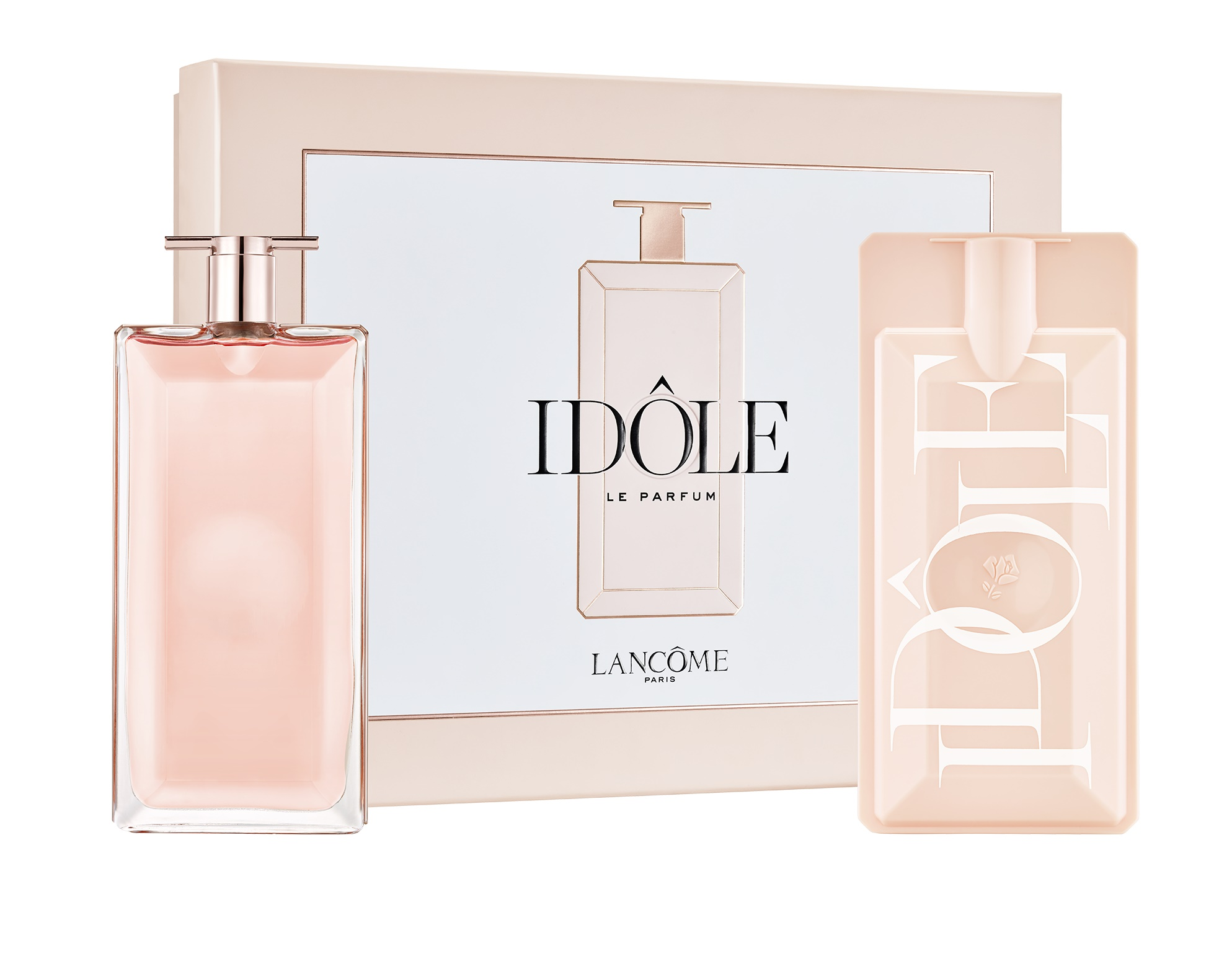 Lancôme Idôle viene en un estuche ideal para regalo. Adquiérelo a través de la aplicación Uva! Al hacer tu compra de productos Lancôme recibirás un regalo valorado en hasta $136 y podrás enviarlo gratis directamente a mamá. Esta promoción es válida hasta el 8 de mayo de 2020 o mientras duren. (Suministrada)