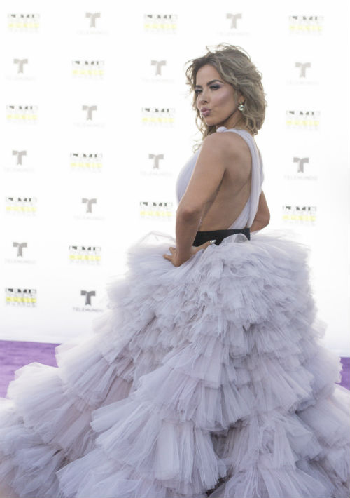 Gloria Trevi. (Photo by Richard Shotwell/Invision/AP)