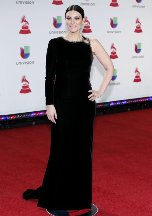 Laura Pausini. (Foto Eric Jamison/Invision/AP)