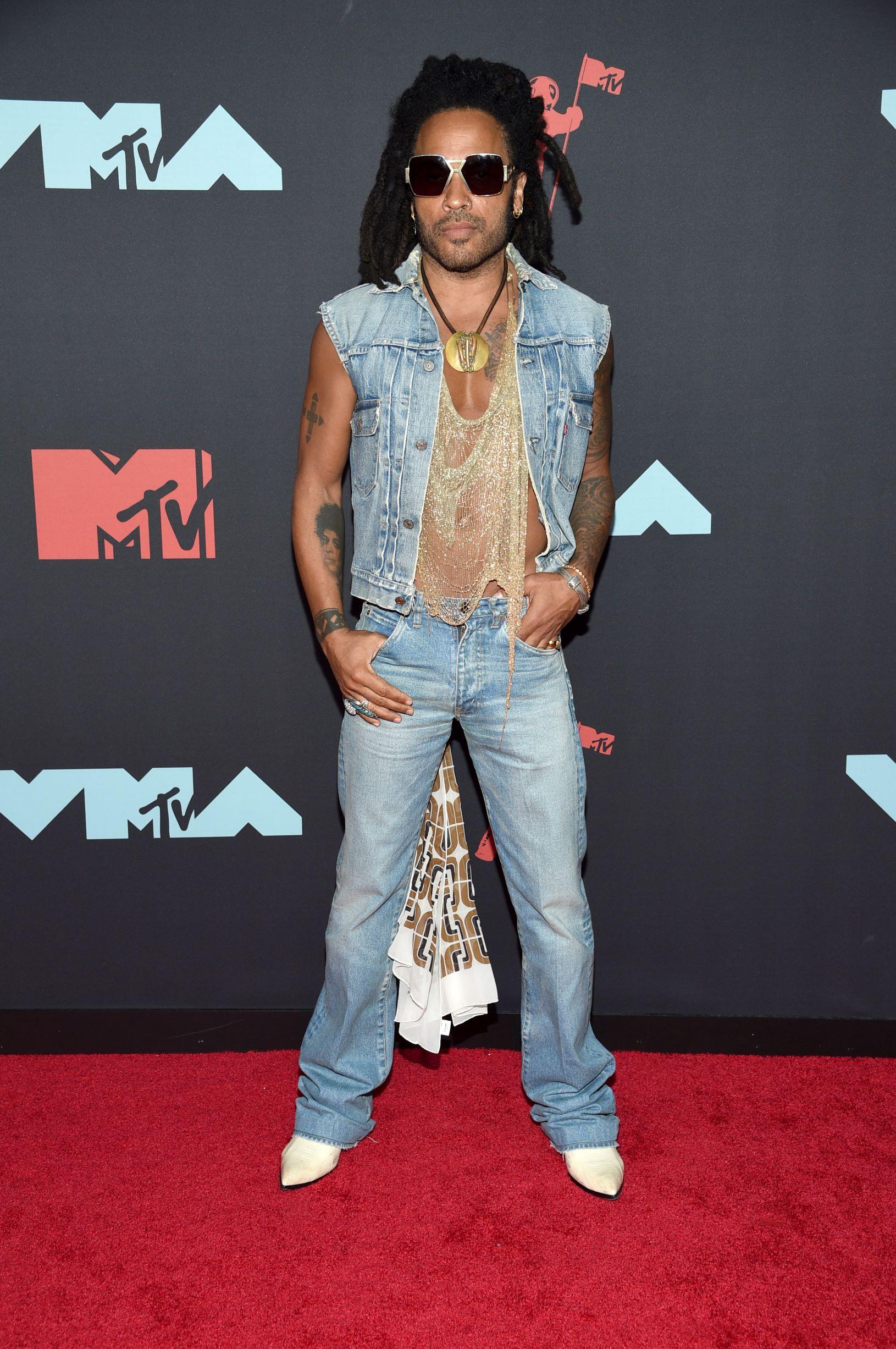 El cantante Lenny Kravitz (AP)