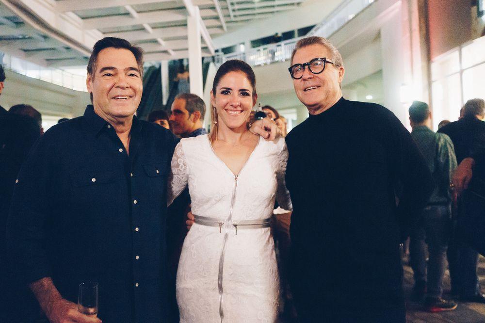 Polo McConnie, Lulu Puras y Nono Maldonado. (Foto: Suministrada)