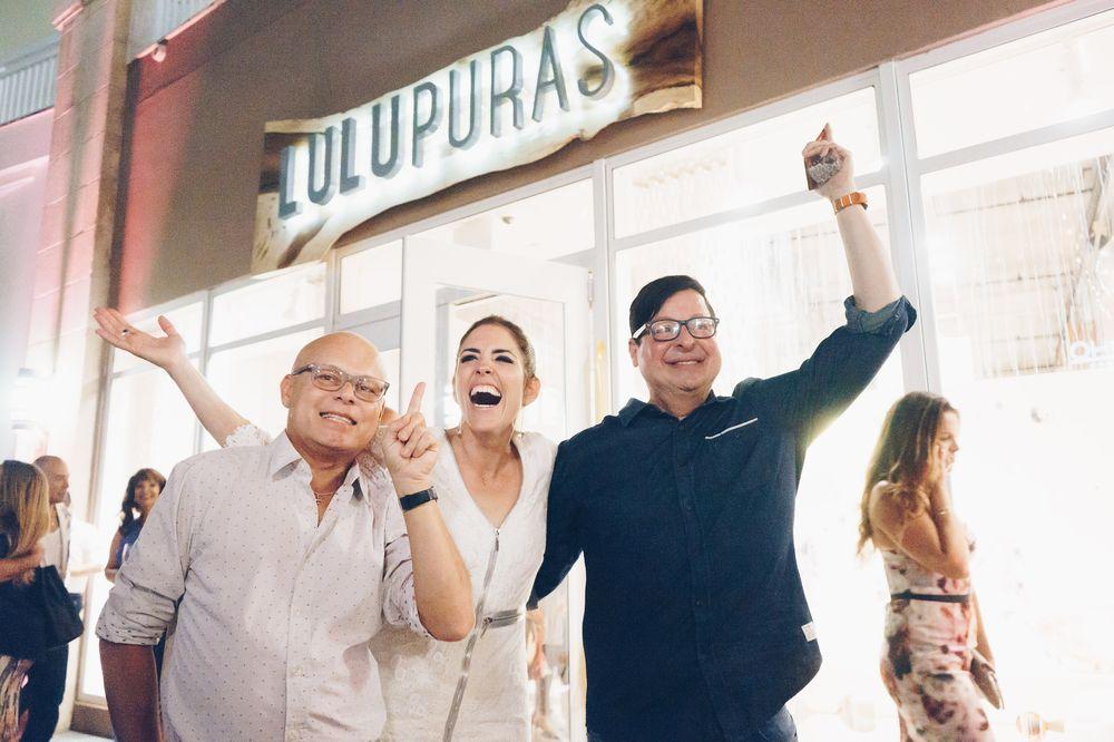 Rafo Calderón, Lulu Puras y Delfín Olmo. (Foto: Suministrada)