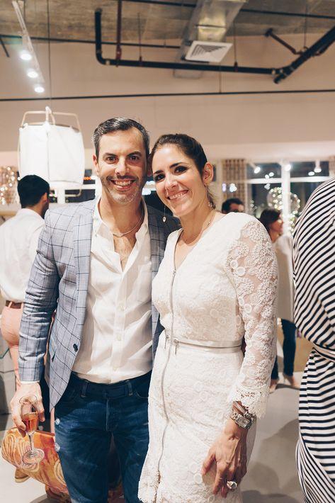 Carlos González y Lulu Puras. (Foto: Suministrada)