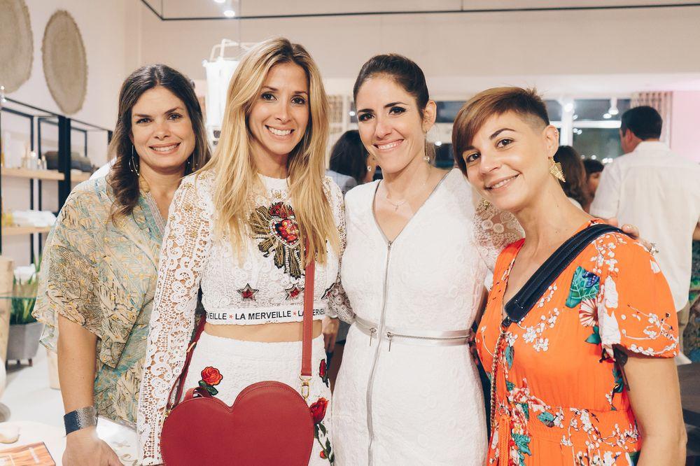 Gretchen Daubon, Betty Martínez, Lulu Puras y Ana María Levis. (Foto: Suministrada)