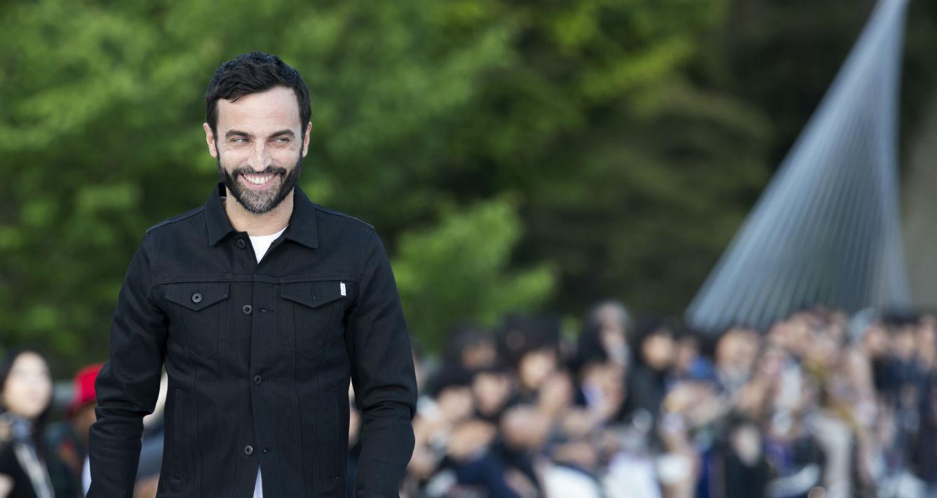 """""""El lugar me inspiró de inmediato"""", explica Nicolas Ghesquière, director artístico de Colecciones para Mujer de Louis Vuitton. (AP Photo/Tomohiro Ohsumi)"""