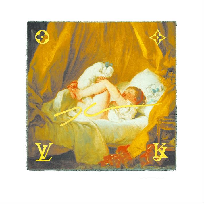 """""""Niña con perro"""" de Fragonard. (Suministrada)"""