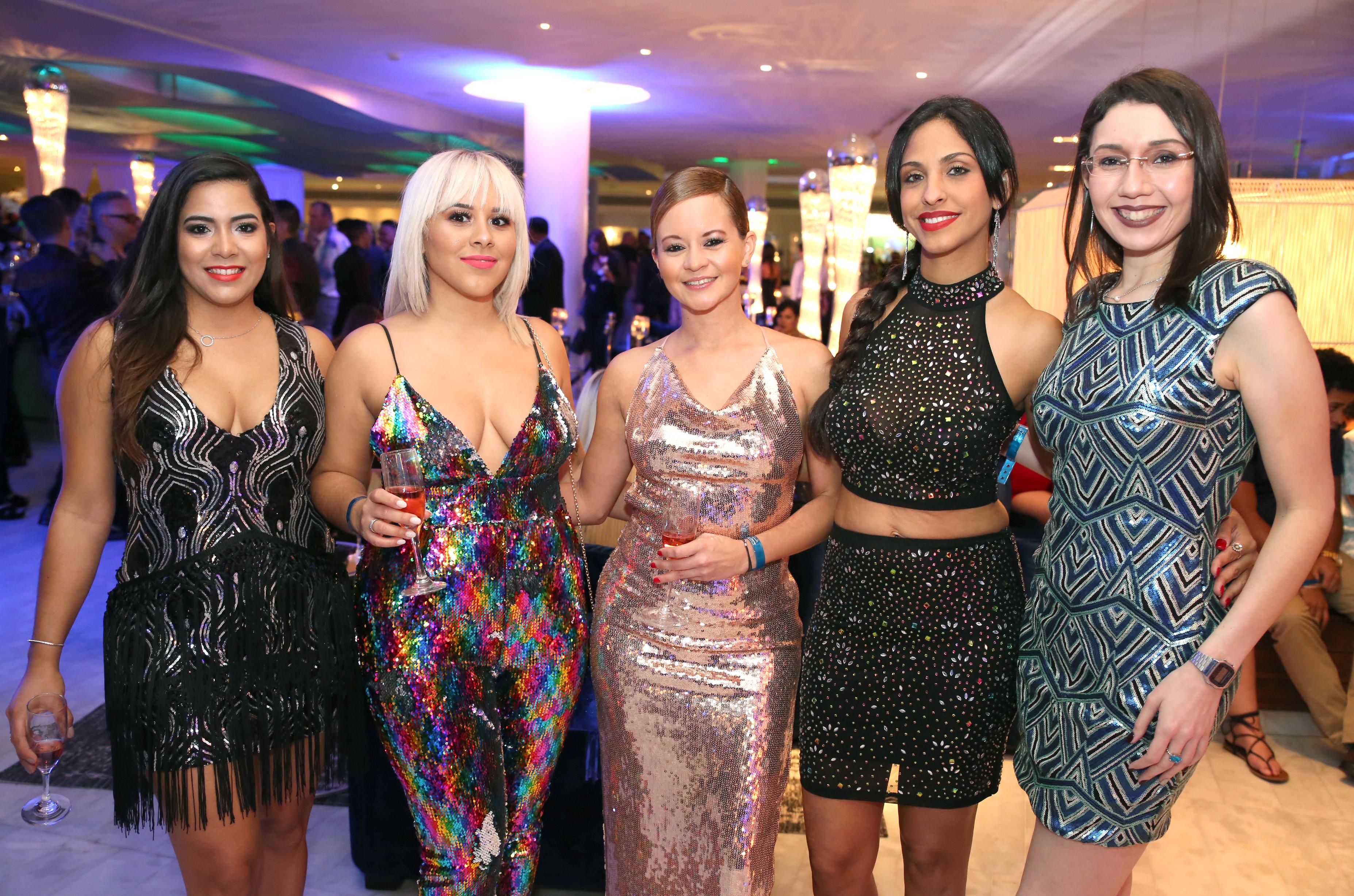 Luz González, Astrid Emmanuelli, Michelle Rodríguez, Yalila Carrasquillo y Nidymar Boscana. Suministradas