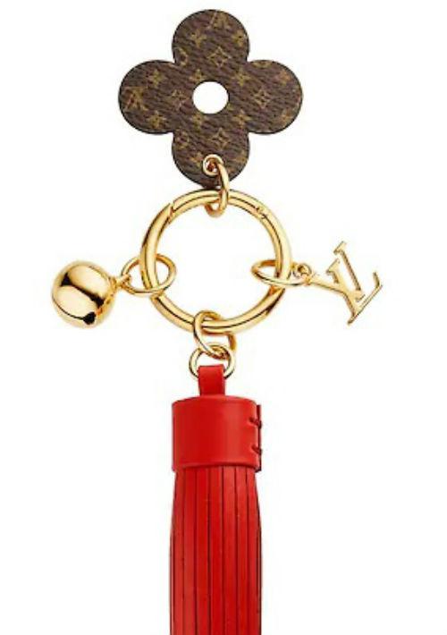 Llavero, de Louis Vuitton. (Foto: Suministrada)