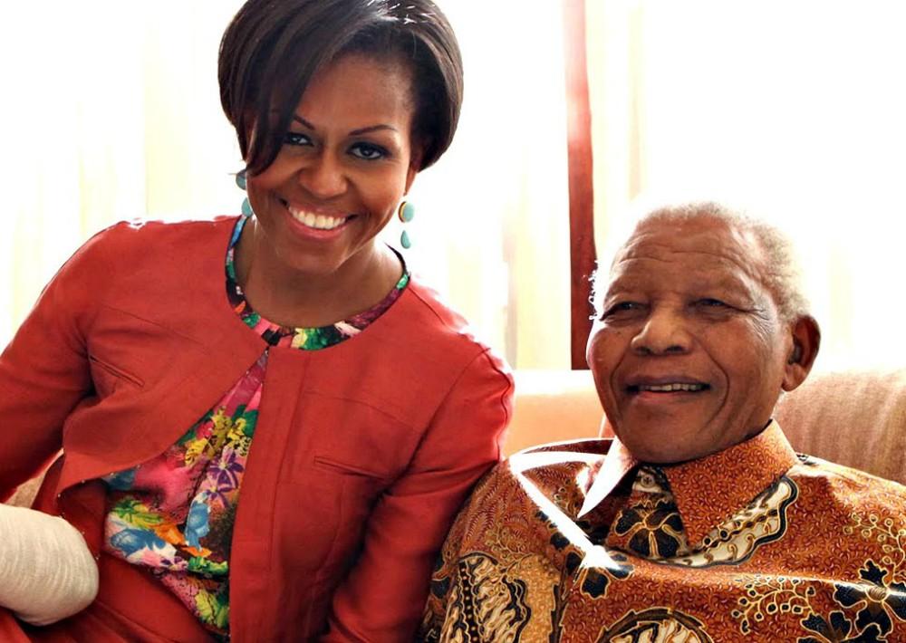 En el 2011 tuvo la oportunidad de conocer a Nelson Mandela.