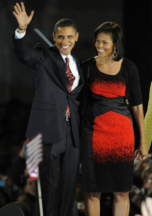 En el 2008 se convirtió en la primera dama de los Estados Unidos.