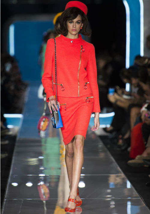 La modelo Kaia Gerber, hija la famosa super modelo, Cindy Crawford.