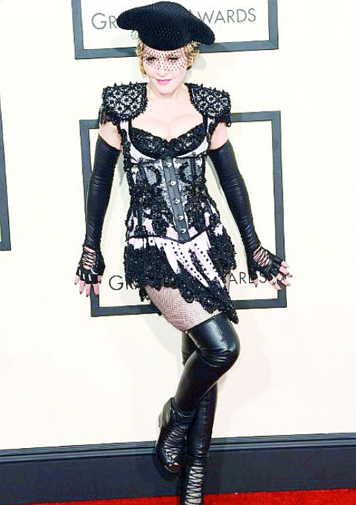 Madonna, 2015 (AFP)