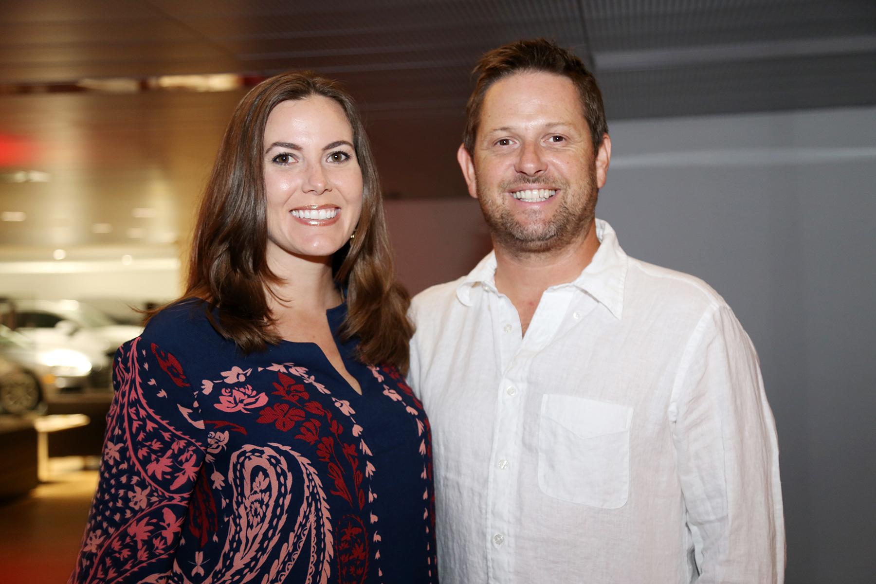 Diane Quiñones y Benjamin Harris.Foto Nichole Saldarriaga