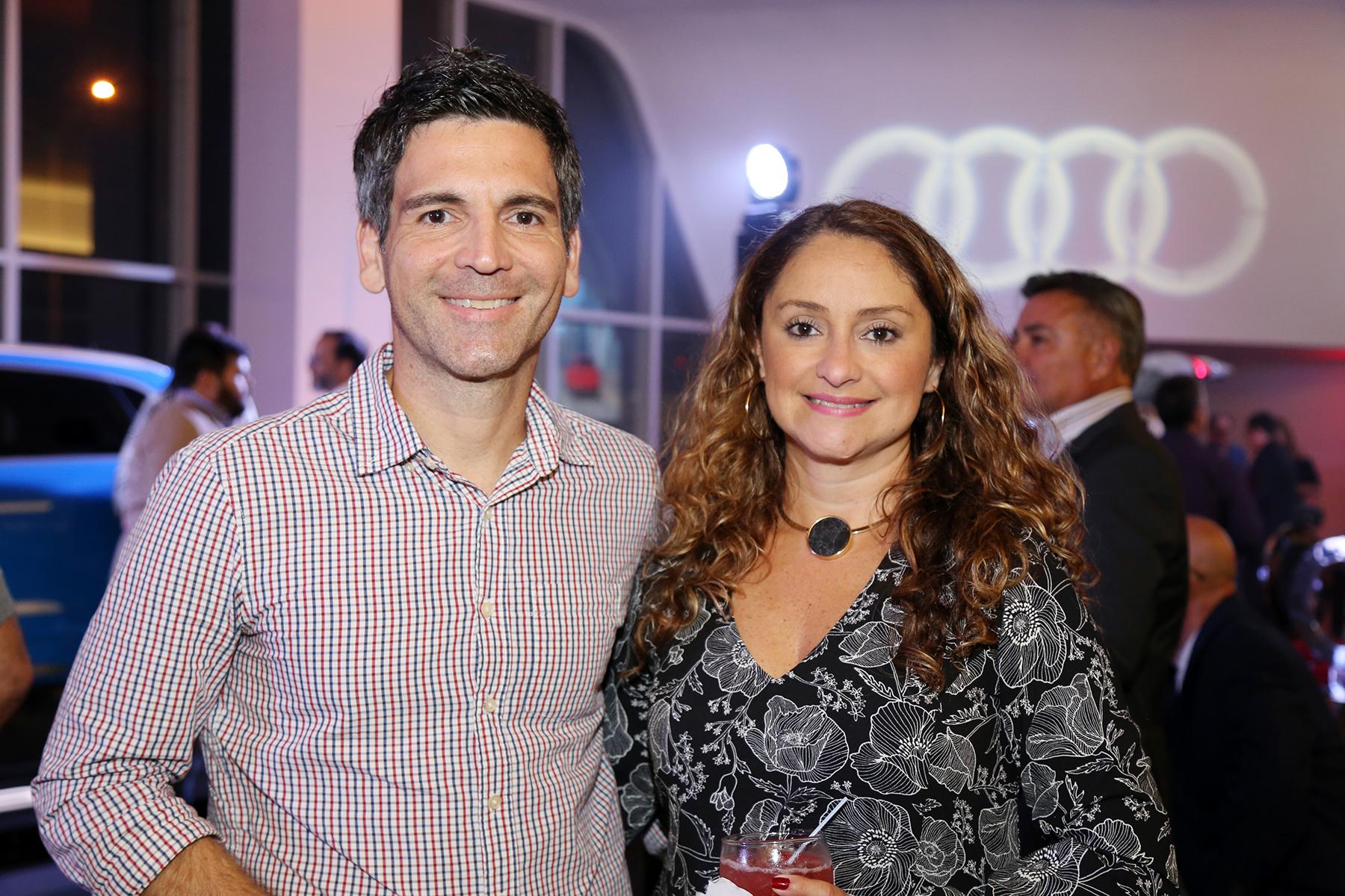 Antonio Chico e Ivette López.Foto Nichole Saldarriaga