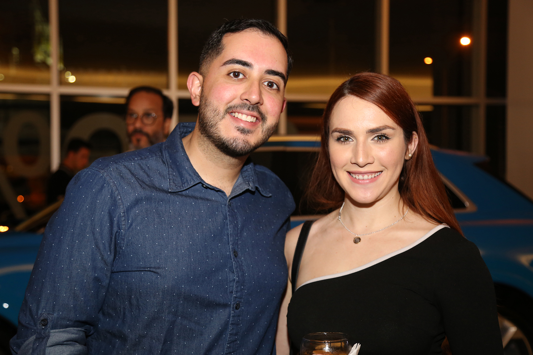 Hector Meléndez y Noralis Ruiz. Foto Nichole Saldarriaga