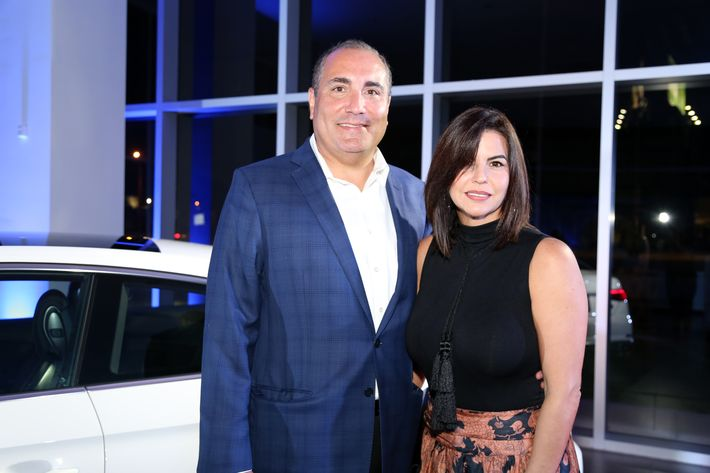 Manuel Sánchez e Ingrid Guzmán