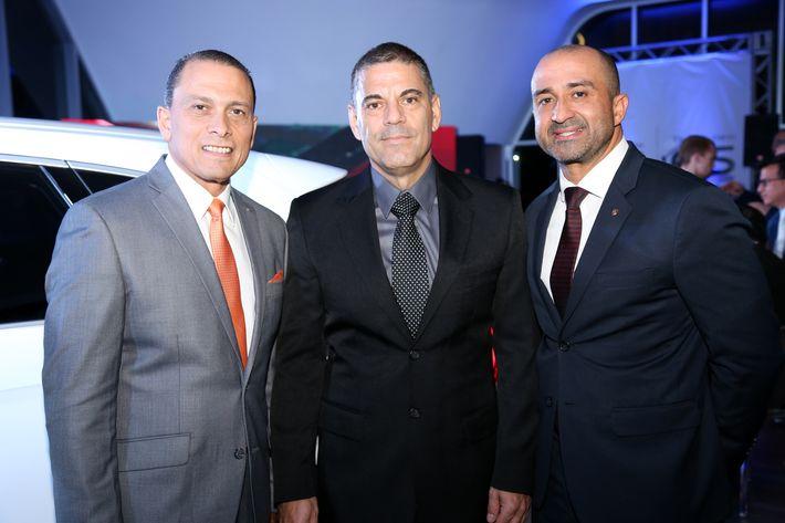 Franklin Rivera, Adolfo Páez y Orlando Pérez