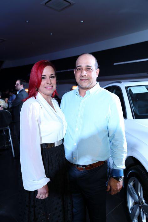 Katherine Montañez y César Zapater