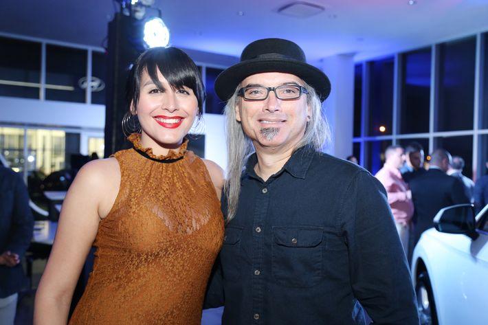Andrea López de Victoria y Andrés O'Neil