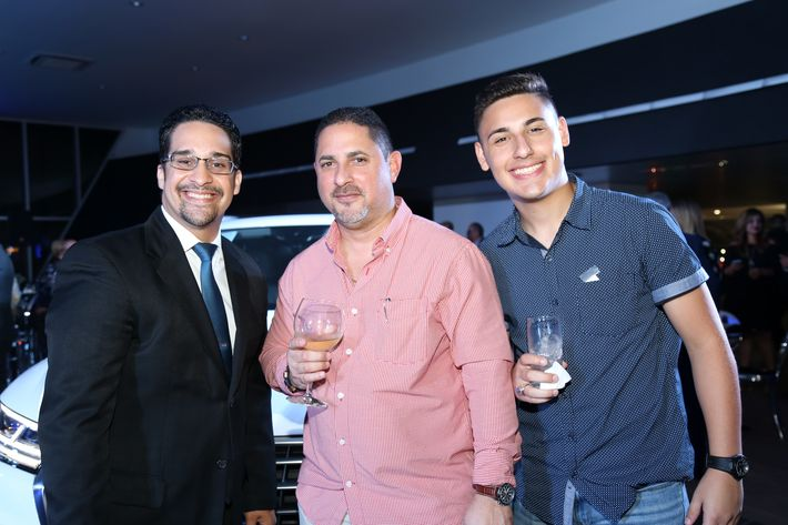 Alexander Olmeda, Ricardo y Ricardo Díaz Jr.