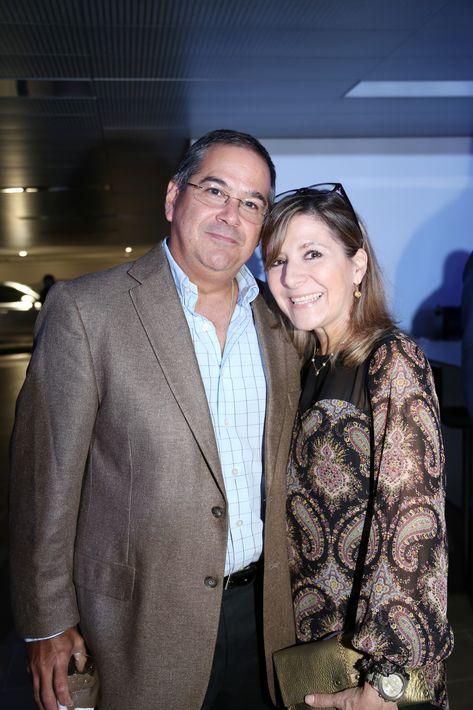 Javier García y  María Emilia Casasnovas