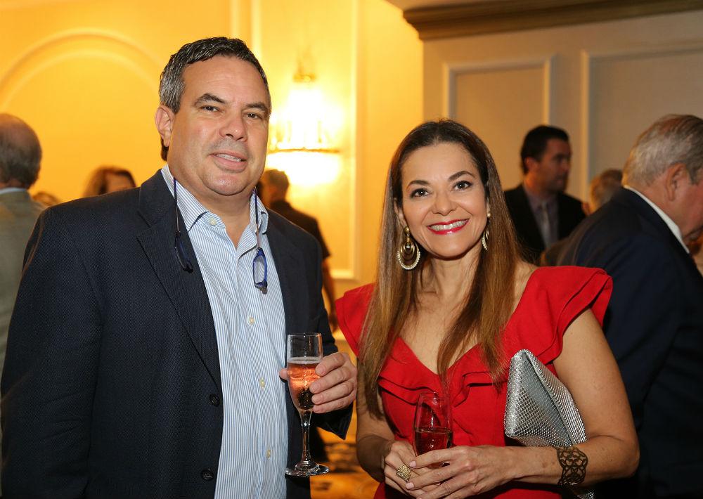 José Arce y Lizette Torres (Foto: Nichole Saldarriaga)
