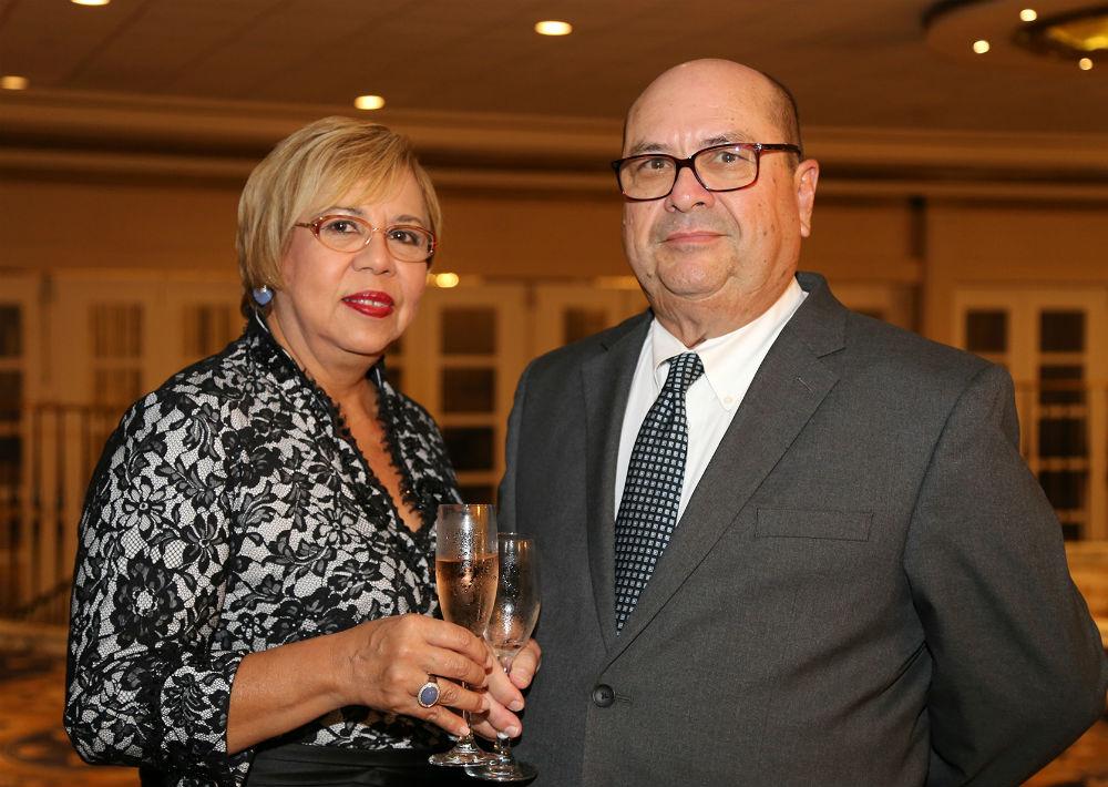 Olga y Carlos Incle (Foto: Nichole Saldarriaga)