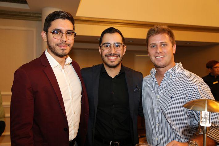 José Acevedo, Luis Ortiz y José Pedreira