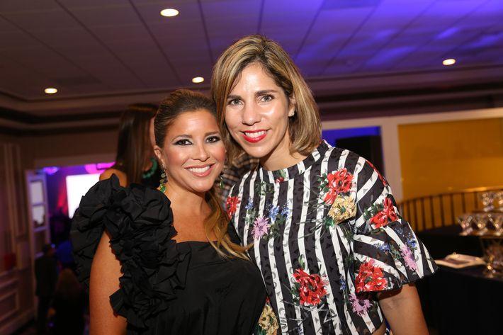 Omara Ortiz y Rosita Rodríguez, en los Premios Cúspide 2017.