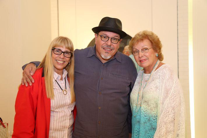 Ivonne Da Silveira, Carlos Dávila Rinaldi y Maritza Dávila, en la muestra Hábitat en Arte @ Plaza.
