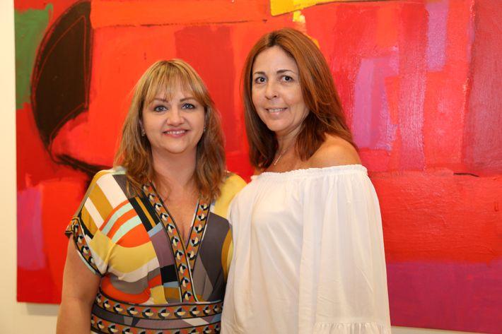 Iris Ayala y Meila Belmont