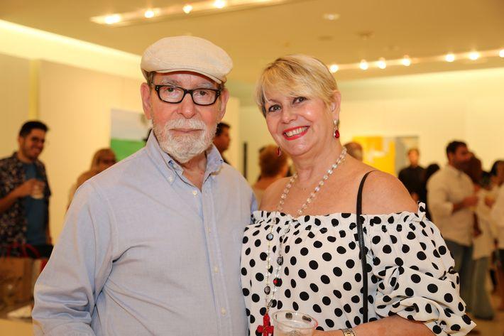 Julio y Camary Bague, en la muestra Hábitat en Arte @ Plaza.