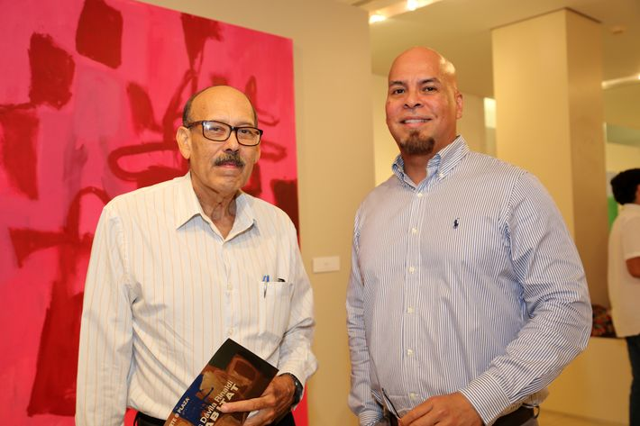 Joe Jiménez y José Medina, en la muestra Hábitat en Arte @ Plaza.