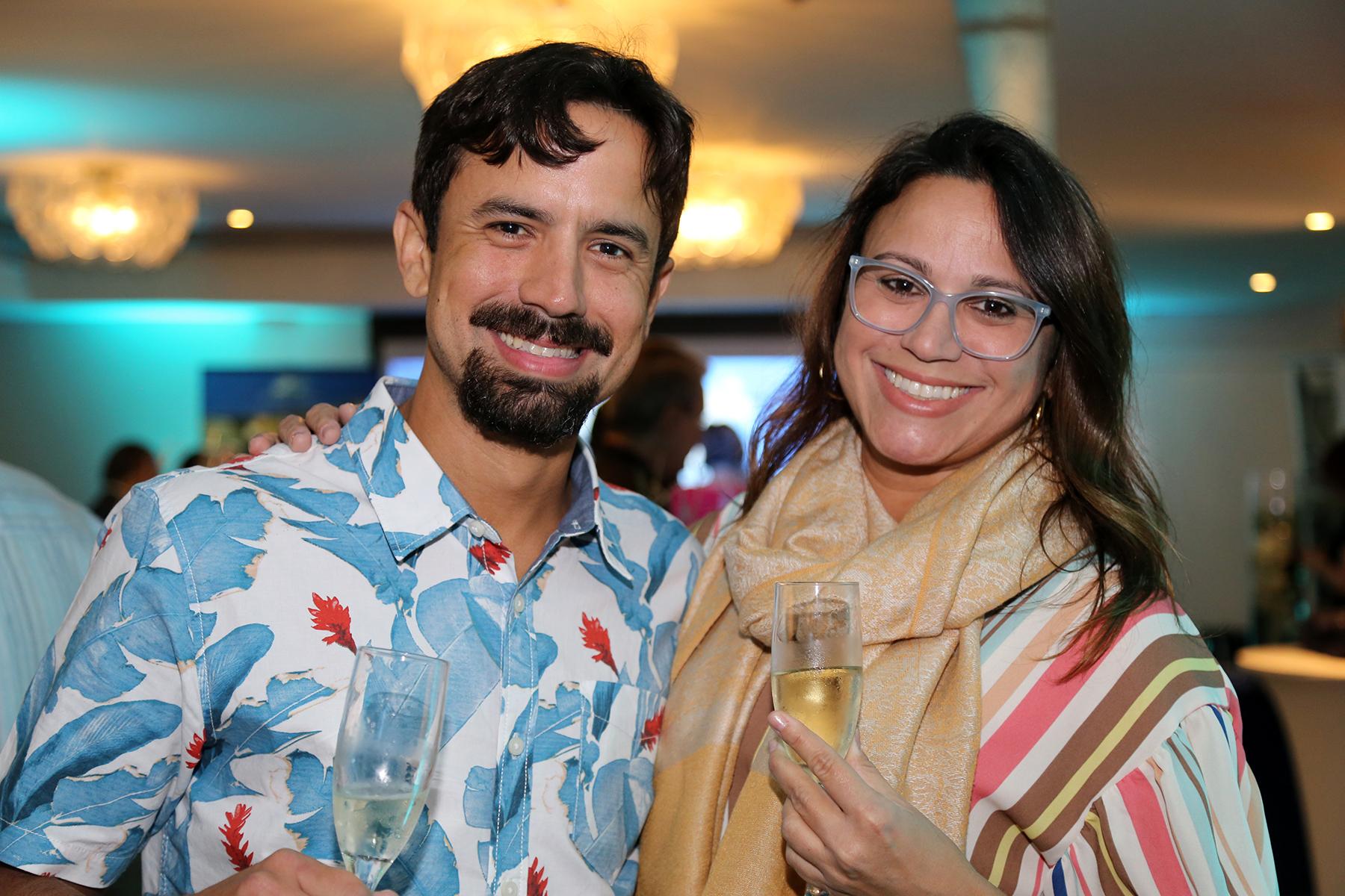 Andres y Adriana Rodriguez. (Nichole Saldarriaga)