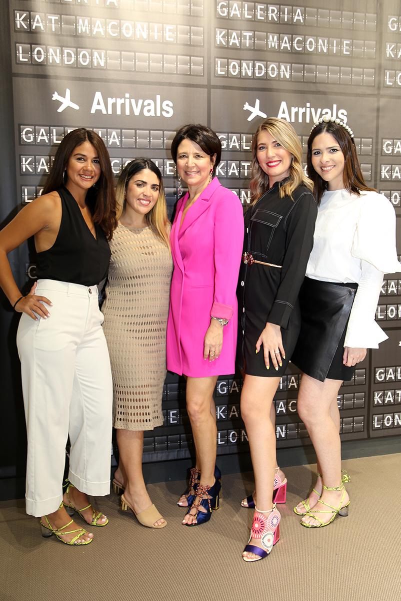 Patricia Navarro, Fabiola Ramos, Sandra Castello, Karla Mercado y Fránces Pérez. (Nichole Saldarriaga)