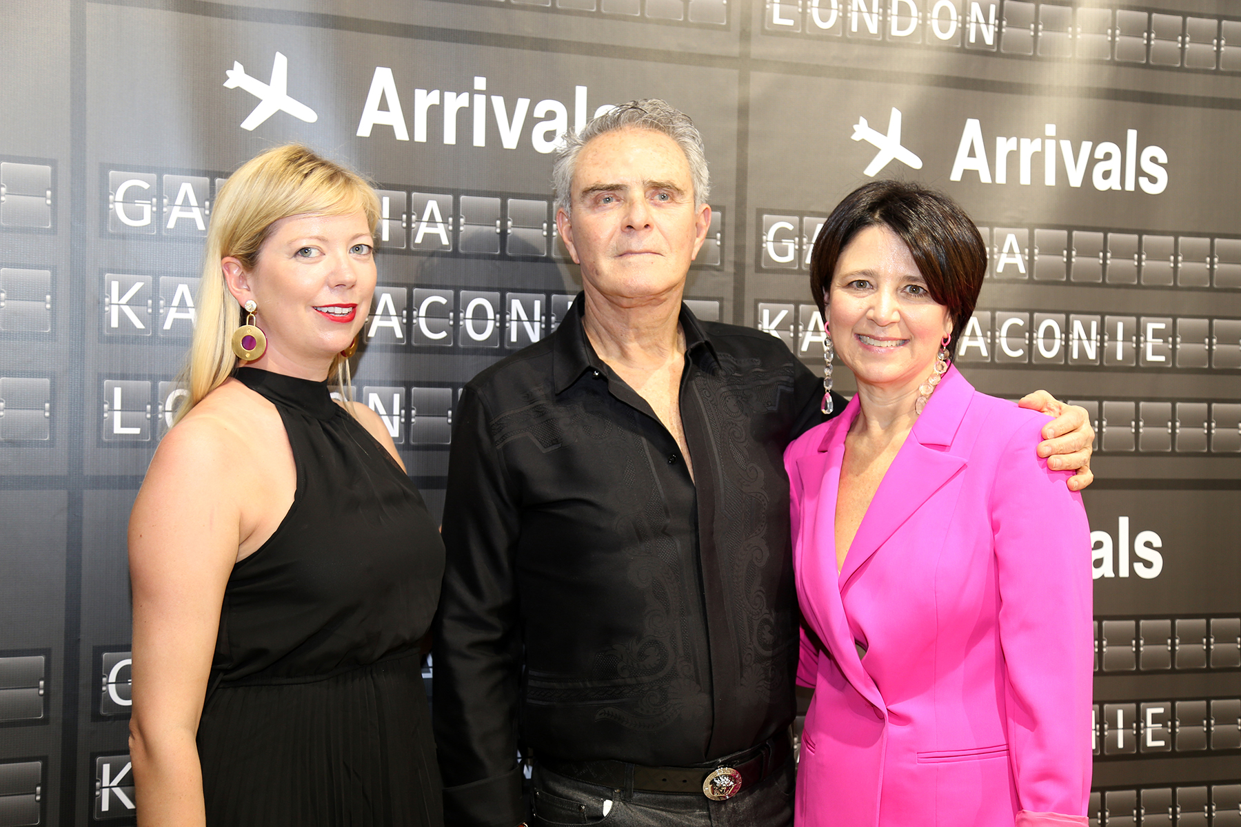 Kat Maconi, Carlyle y Sandra Castello. (Nichole Saldarriaga)