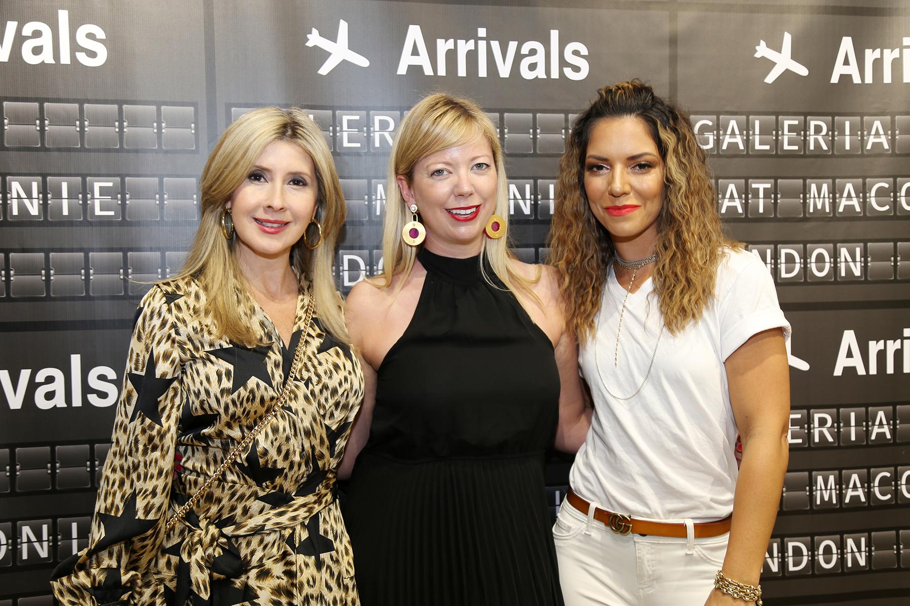 Waleska Rodríguez, Kat Maconi y Angela Santos. (Nichole Saldarriaga)