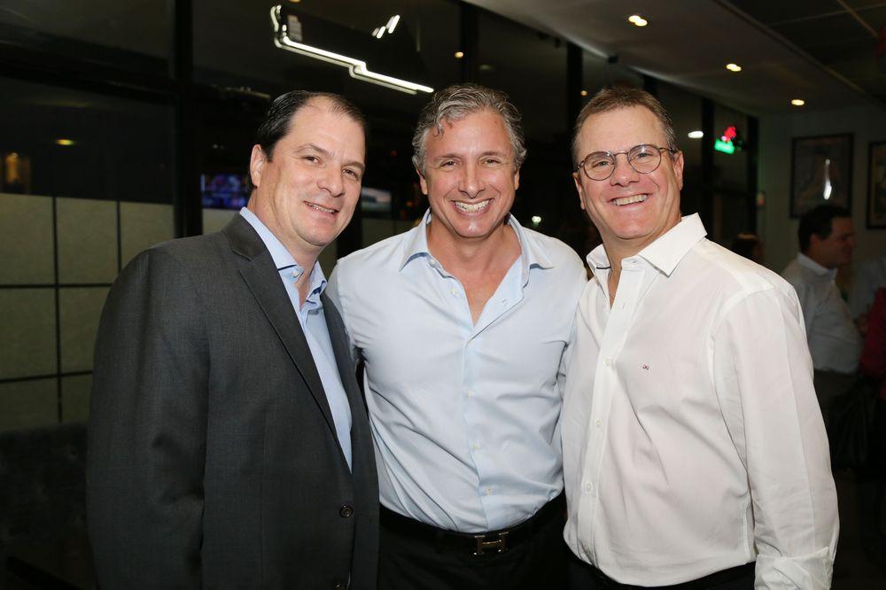 Tony Casellas, Enrique Ortiz y Carlos Díaz  Foto Nichole Saldarriaga.