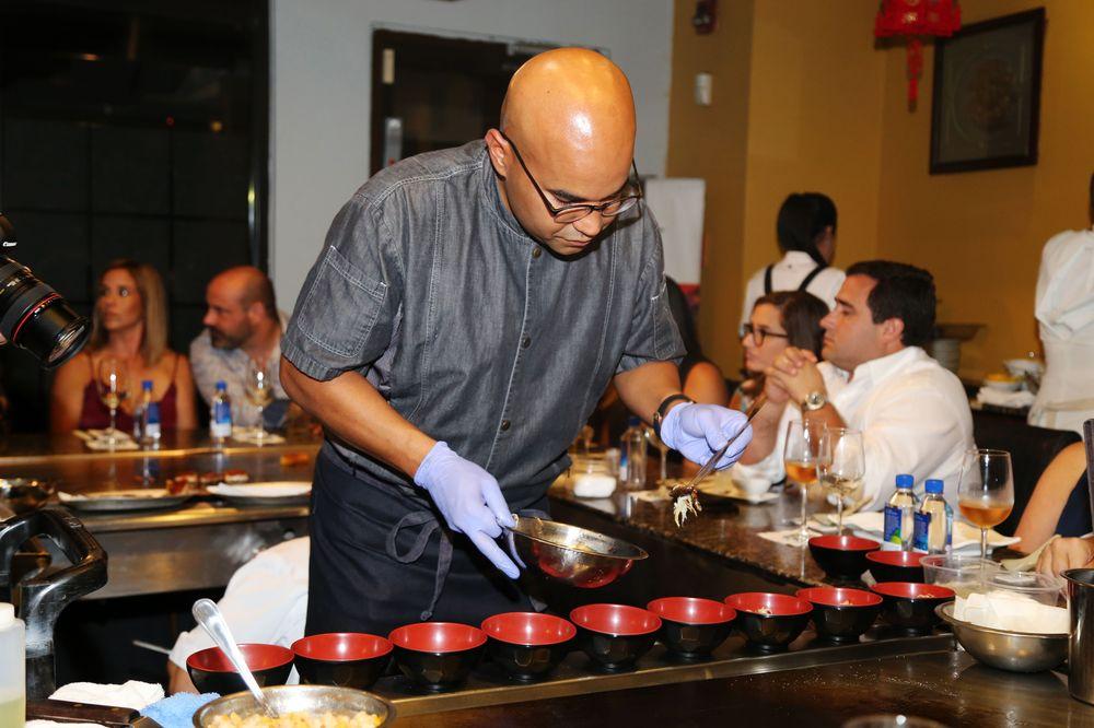 Chef Enrique Piñeiro. Foto Nichole Saldarriaga.
