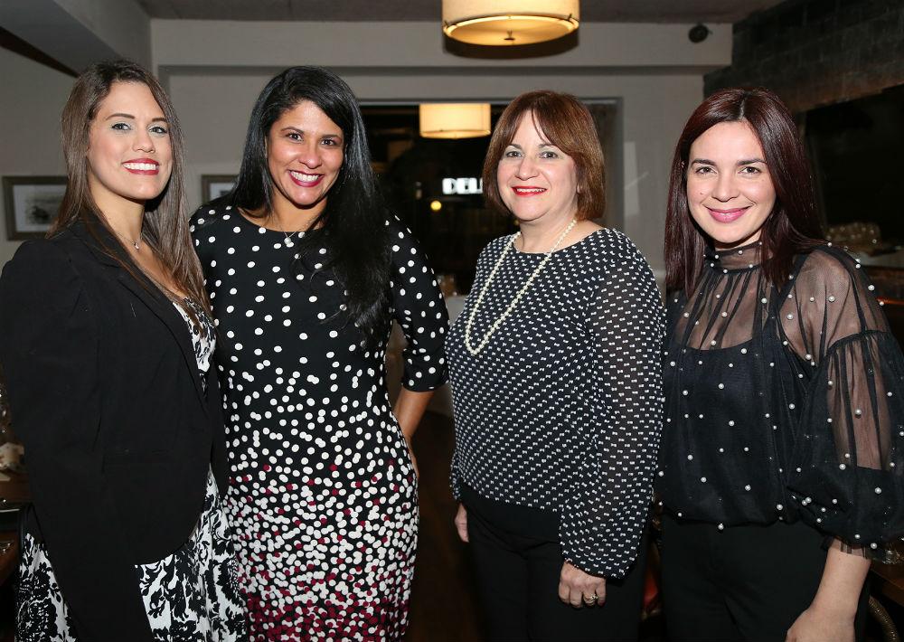 Delitza Morales, Aixa González, Norma Vázquez y Gabriela Padilla (Foto: Nichole Saldarriaga)
