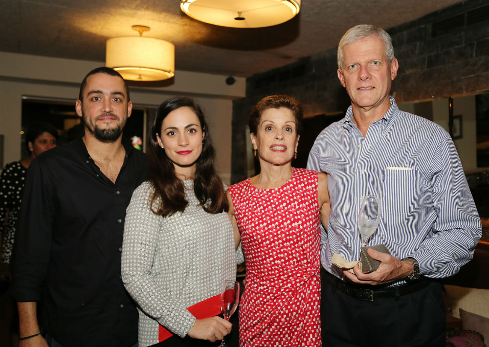 Steven Lausell, Manon Petex Petex, Carmen Vivas y Philippe Lohner (Foto: Nichole Saldarriaga)