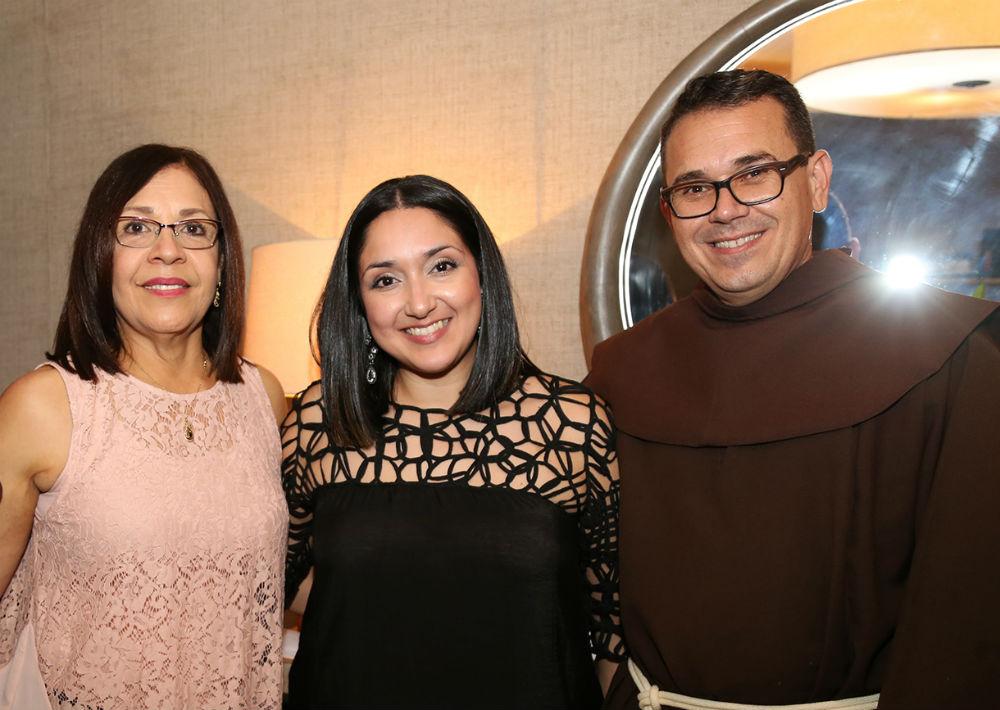 Sandra Jiménez, Michelle Rodríguez y Eddie Caro (Foto: Nichole Saldarriaga)