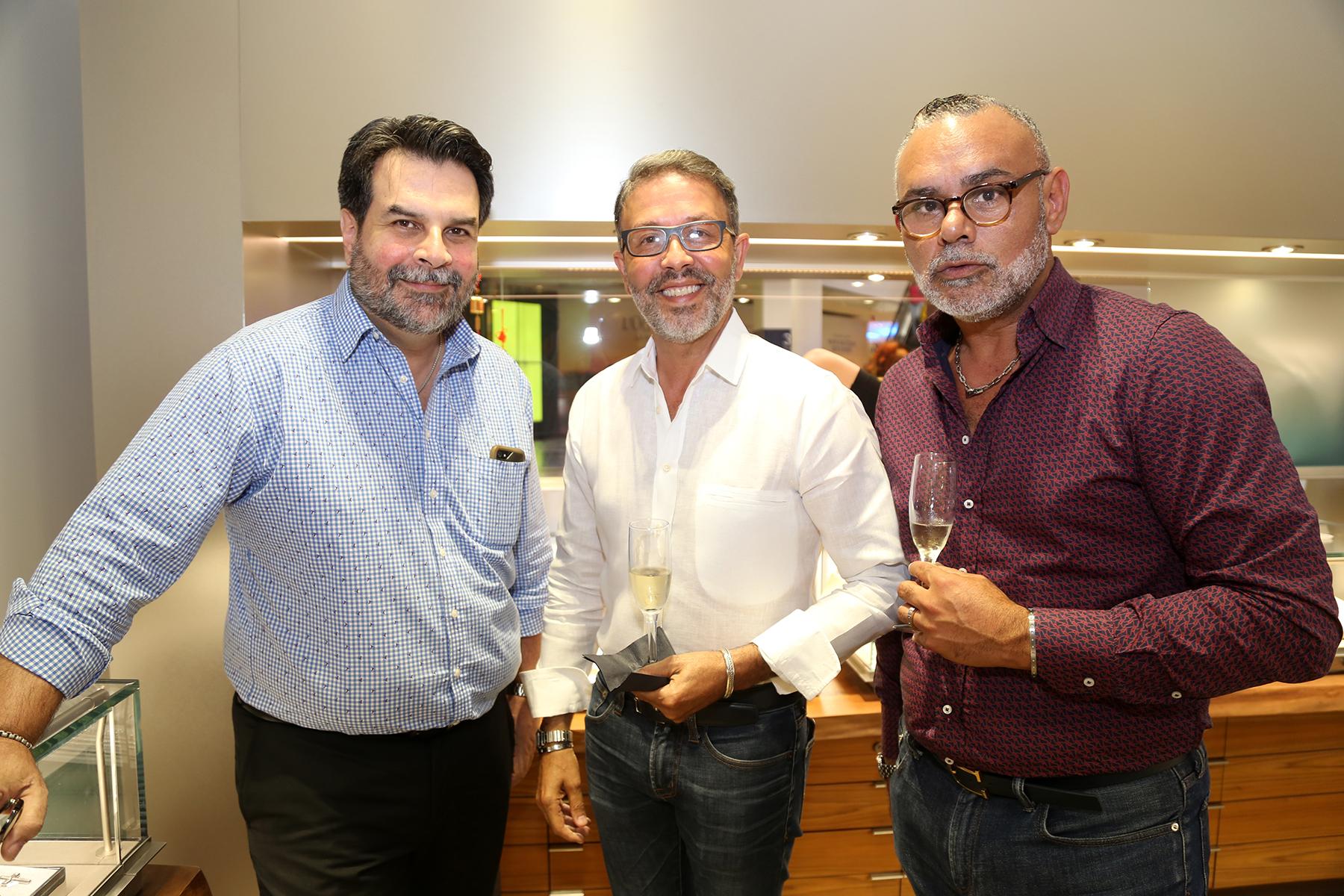 César Toledo, Wilfredo Marrero, Esteban Serrano. (Nichole Saldarriaga)