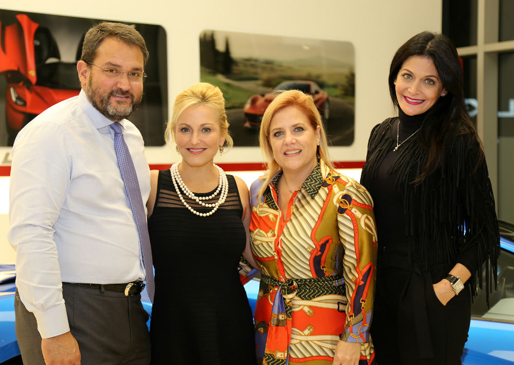 Víctor Gómez III, Joanna Berg, Elaine Kauffmann y Bárbara Serrano (Foto: Nichole Saldarriaga)