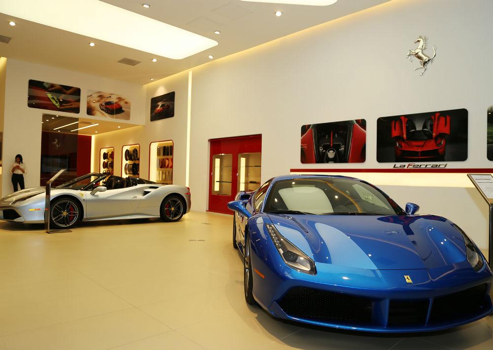 Modelos Ferrari (Foto: Nichole Saldarriaga)