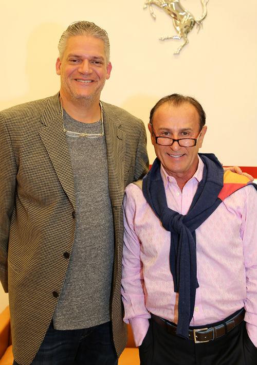 Stelvio Giachello y Nino Pernetti (Foto: Nichole Saldarriaga)